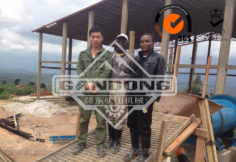 Nickel mine tantalum and niobium ore processing project in Burundi