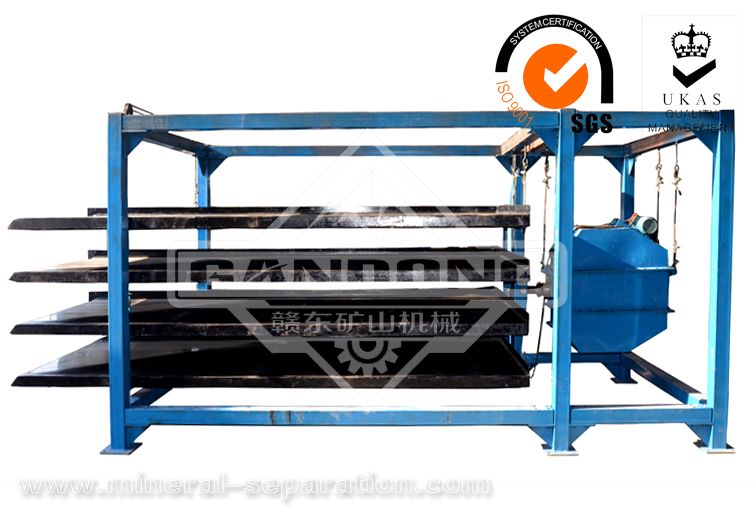 Multideck Lift Type Shaking Table